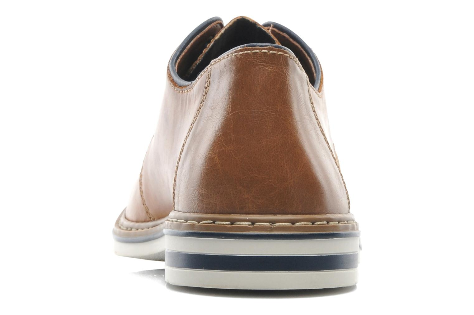 Lace-up shoes Rieker Brutus 1422 Brown view from the right