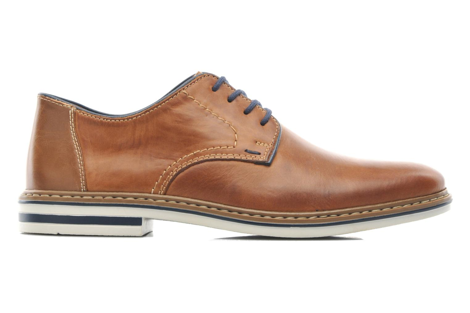 Lace-up shoes Rieker Brutus 1422 Brown back view