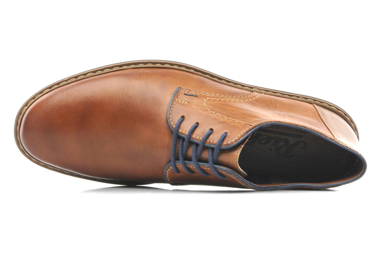 Lace-up shoes Rieker Brutus 1422 Brown view from the left