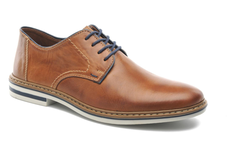 Snøresko Rieker Brutus 1422 Brun detaljeret billede af skoene