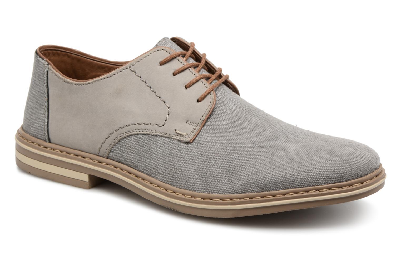 Rieker Brutus 1422 (Gris) - Chaussures à lacets chez Sarenza (323806)