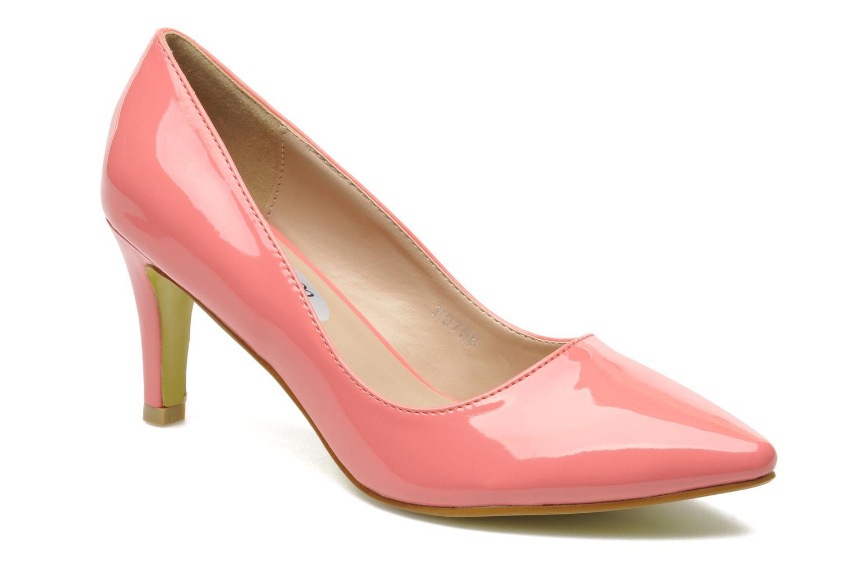 Escarpins I Love Shoes Kivari Rose vue détail/paire