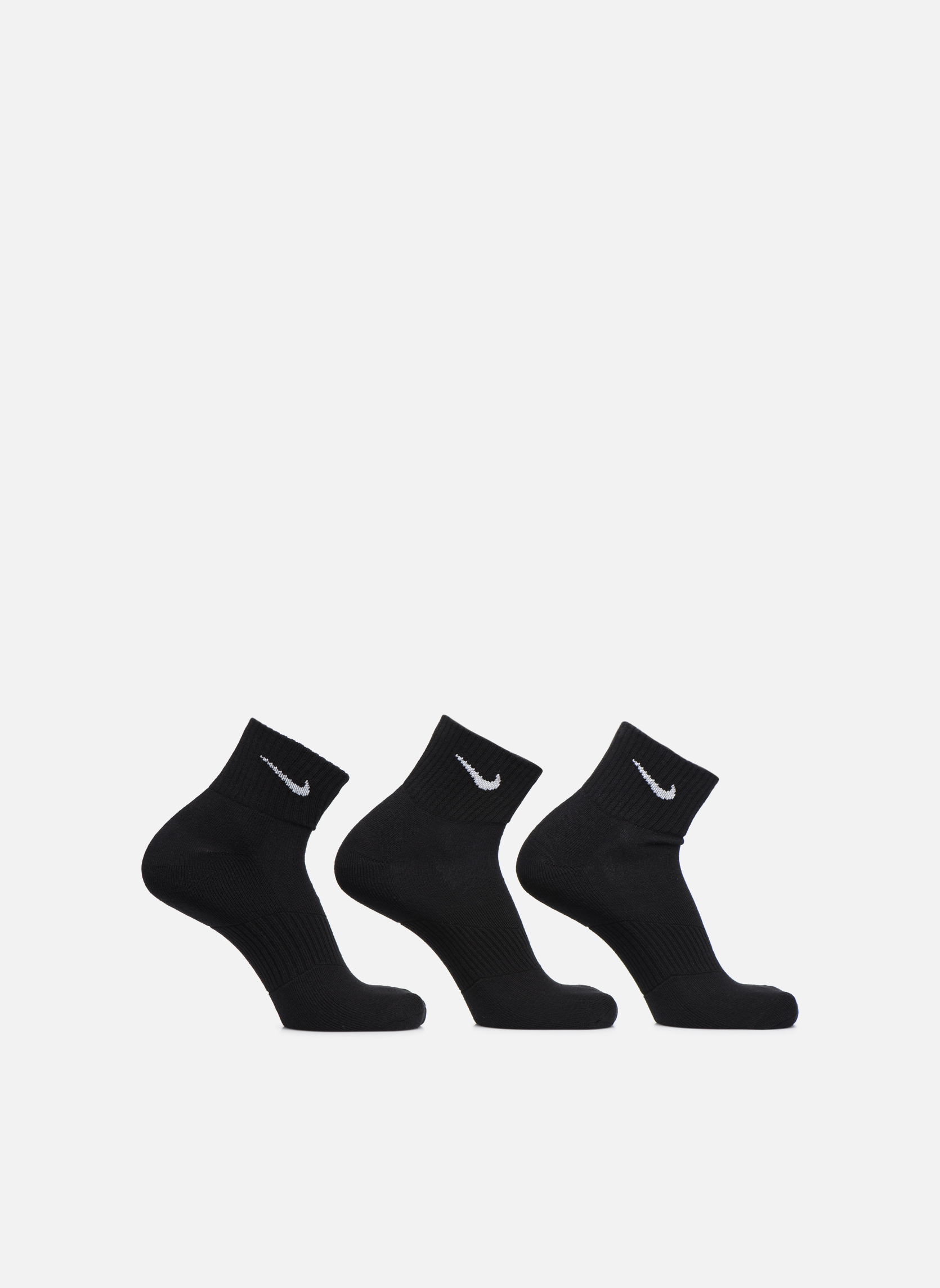 (Pack de 3) Chaussettes Nike Cushion Basses BLACK/(WHITE)