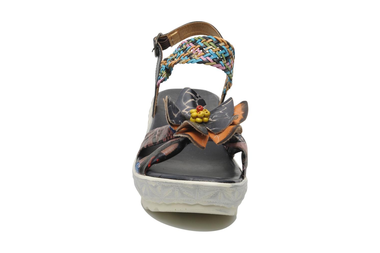 Sandales et nu-pieds Laura Vita Sidi Multicolore vue portées chaussures