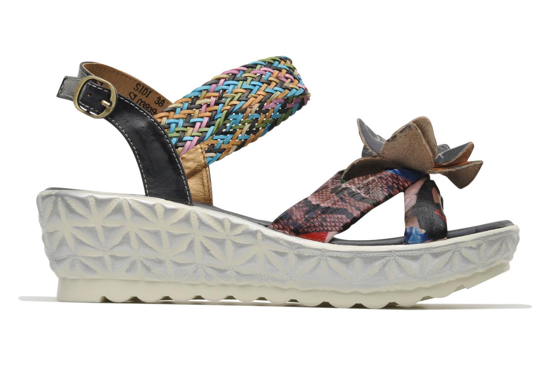 Sandales et nu-pieds Laura Vita Sidi Multicolore vue derrière