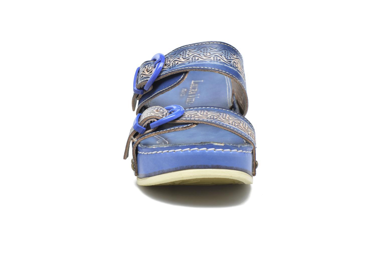 Mules et sabots Laura Vita Scep Bleu vue portées chaussures