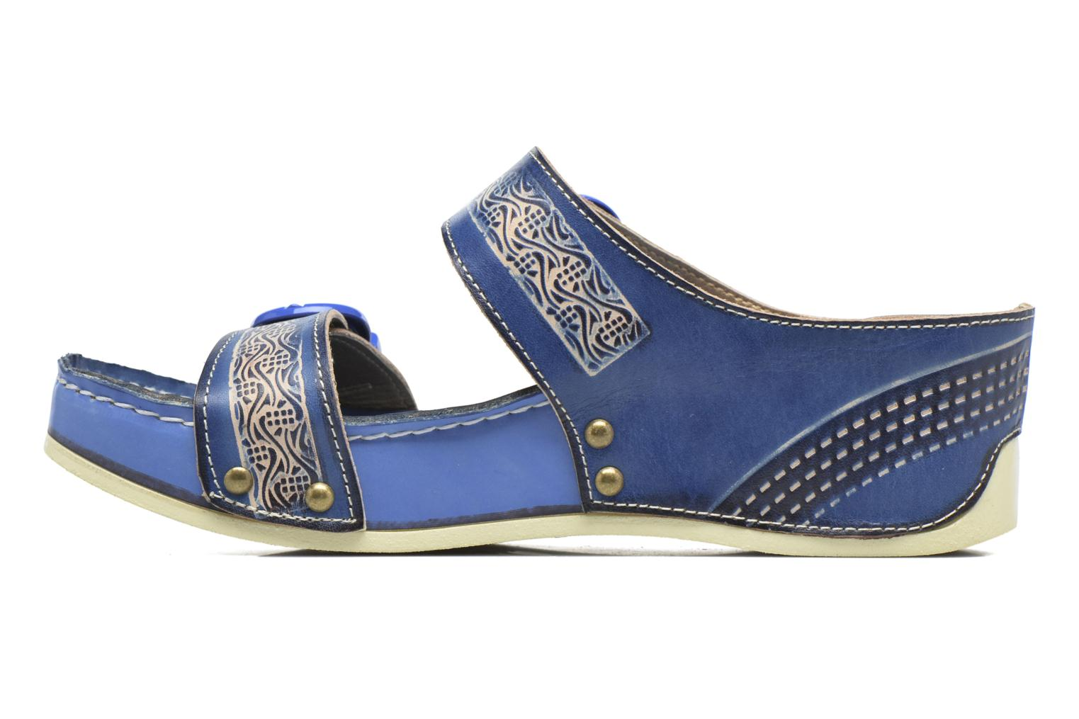 Mules & clogs Laura Vita Scep Blue front view