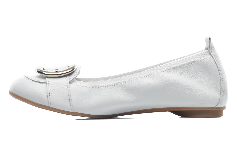 Ballerinas Arima pour Elle Katina weiß ansicht von vorne