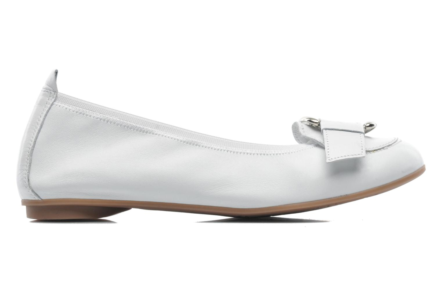 Ballet pumps Arima pour Elle Katina White back view