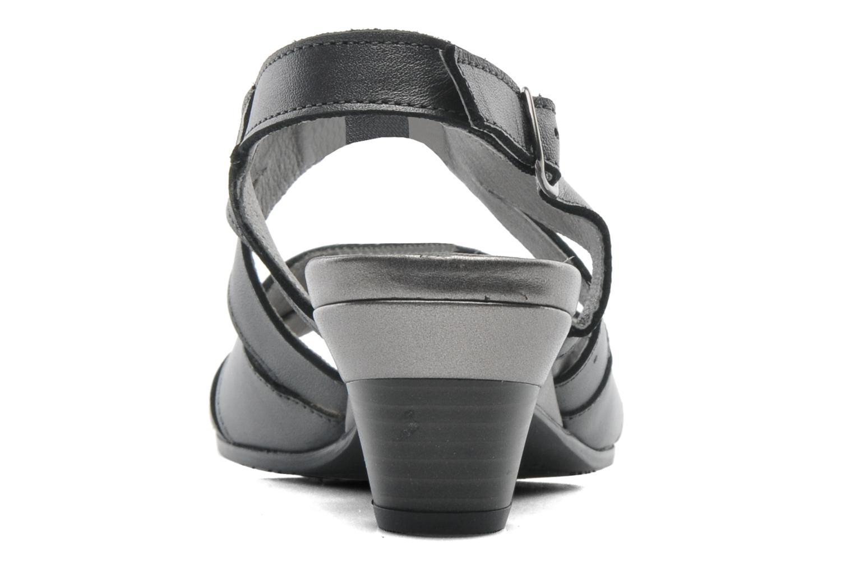 Sandales et nu-pieds Arima pour Elle Poeta Gris vue droite