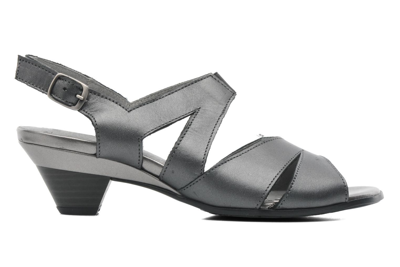 Sandales et nu-pieds Arima pour Elle Poeta Gris vue derrière