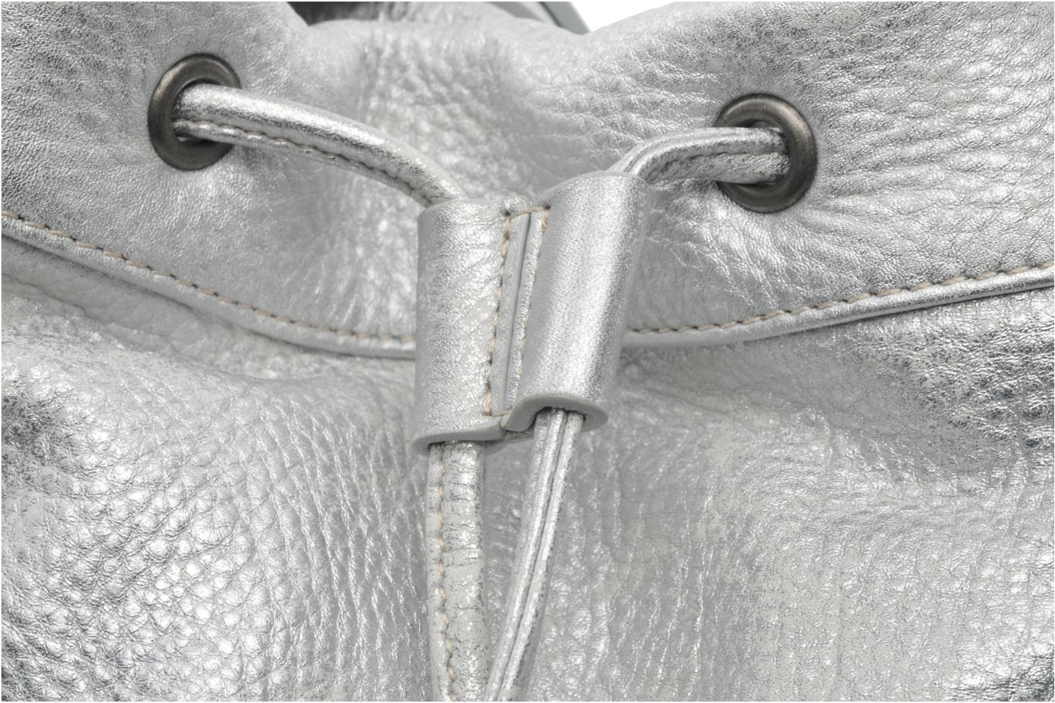 Handbags Sabrina Anaé Silver view from the left