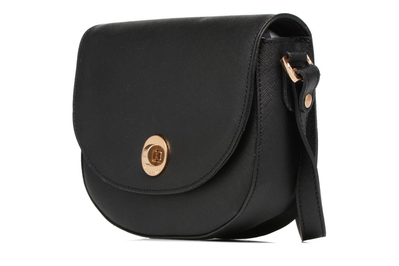 Handtaschen Sabrina Rebecca schwarz schuhe getragen