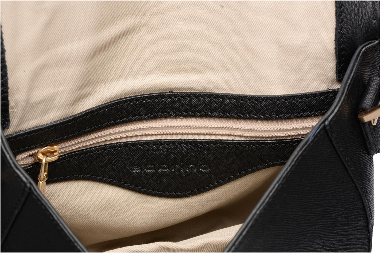 Handtassen Sabrina Rebecca Zwart achterkant