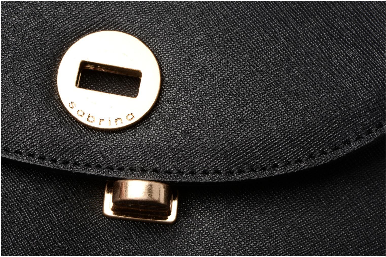 Handväskor Sabrina Rebecca Svart bild från vänster sidan