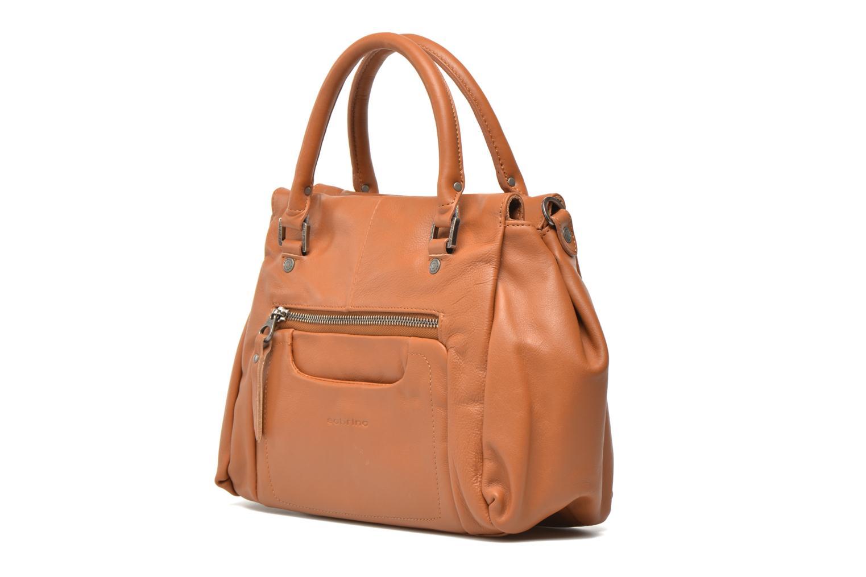 Handtaschen Sabrina Judith braun schuhe getragen