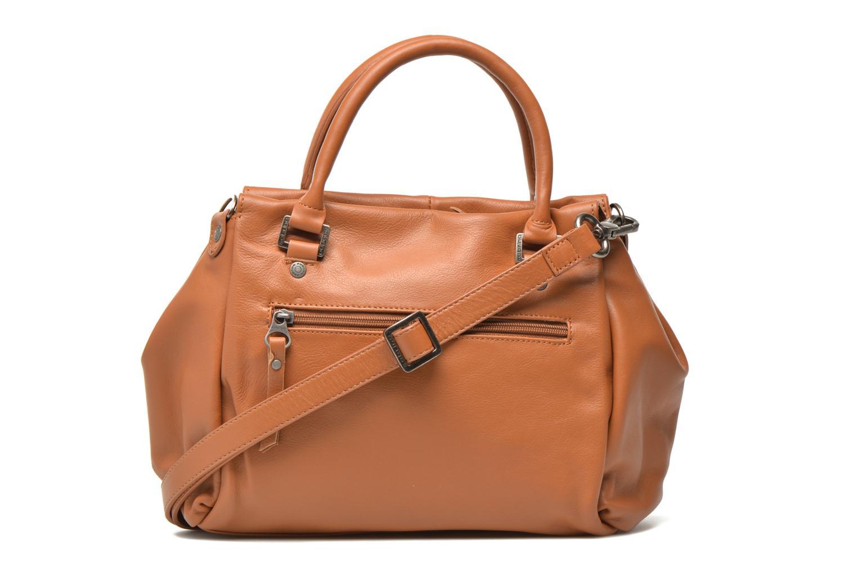 Håndtasker Sabrina Judith Brun se forfra