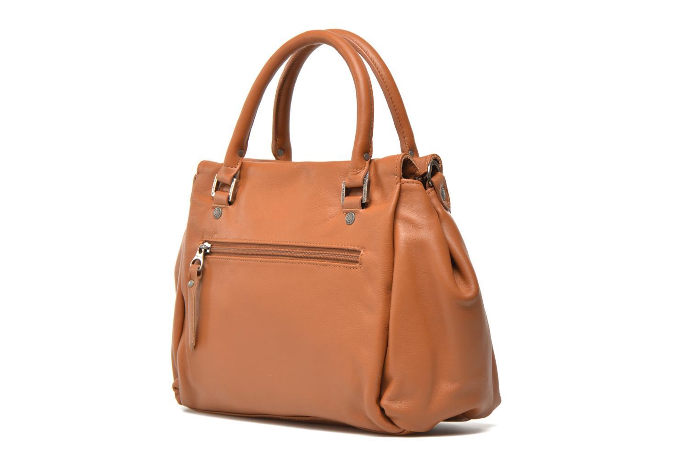 Handtaschen Sabrina Judith braun ansicht von rechts