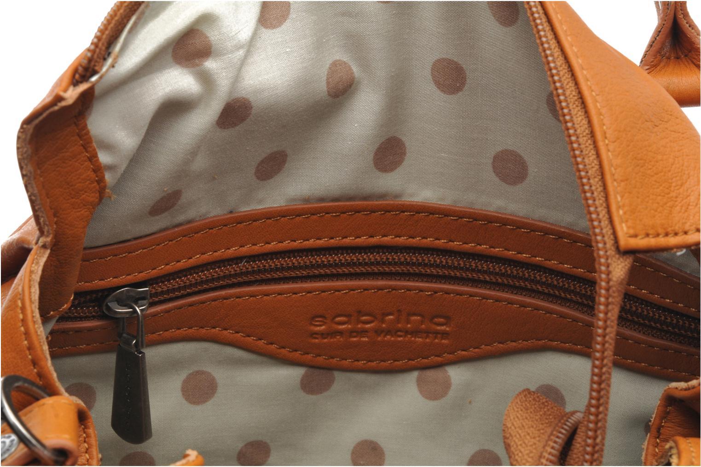 Handtaschen Sabrina Judith braun ansicht von hinten