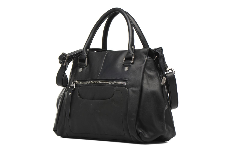 Handtaschen Sabrina Judith schwarz schuhe getragen