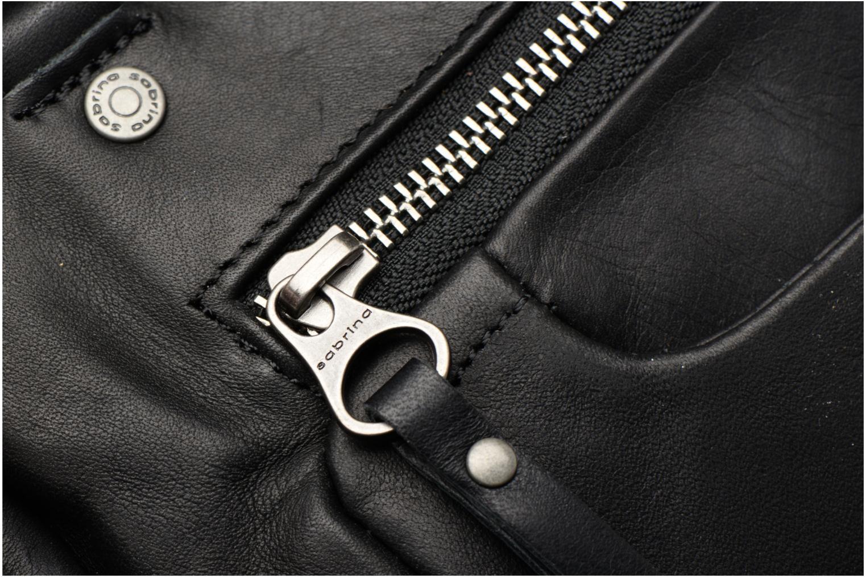 Handtaschen Sabrina Judith schwarz ansicht von links