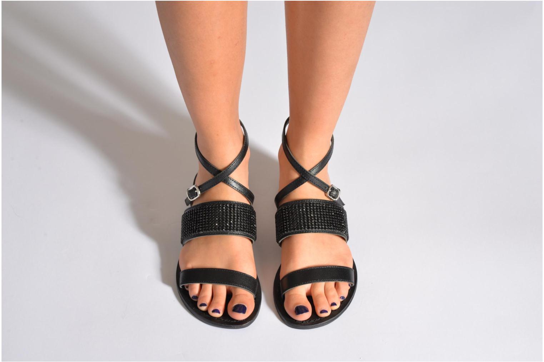 Sandales et nu-pieds Elizabeth Stuart Hoban 683 Noir vue bas / vue portée sac