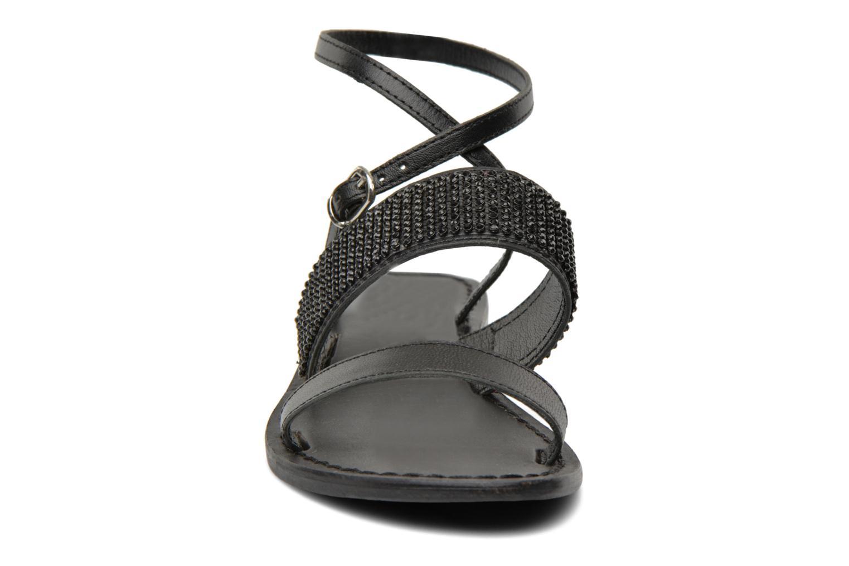 Sandales et nu-pieds Elizabeth Stuart Hoban 683 Noir vue portées chaussures