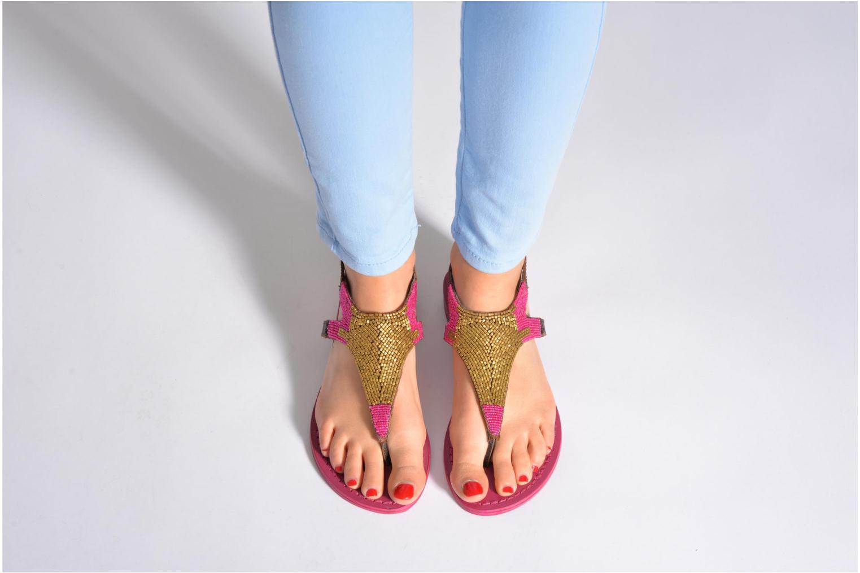 Sandales et nu-pieds Elizabeth Stuart Hogo 682 Rose vue bas / vue portée sac