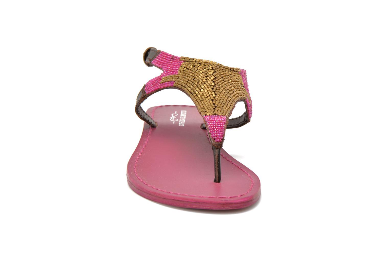 Sandales et nu-pieds Elizabeth Stuart Hogo 682 Rose vue portées chaussures