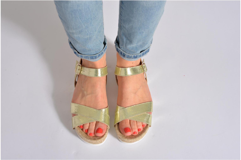 Sandals Elizabeth Stuart Come 697 Pink view from underneath / model view