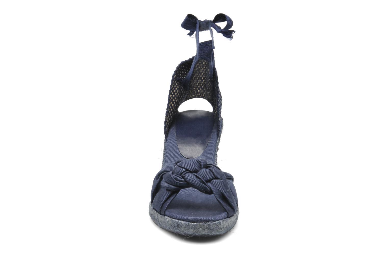 Sandalen Elizabeth Stuart Riam 605 blau schuhe getragen