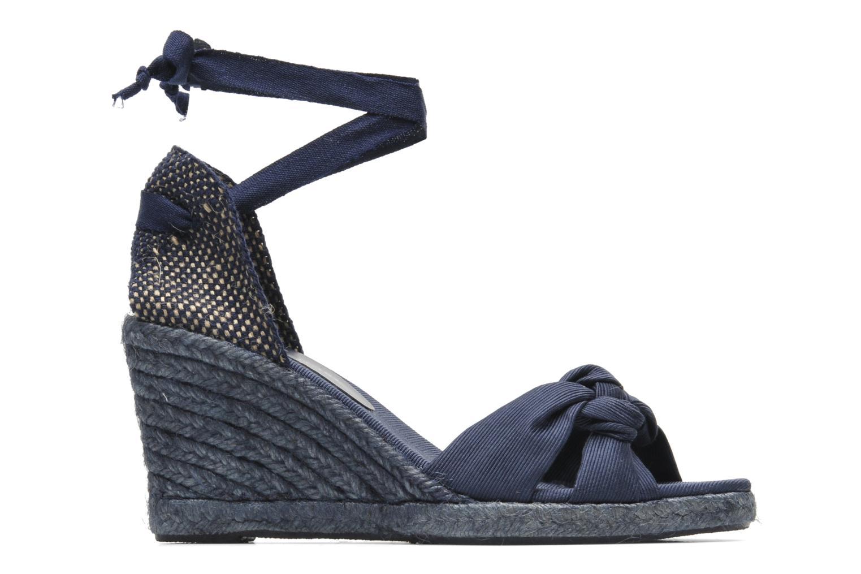 Sandalen Elizabeth Stuart Riam 605 blau ansicht von hinten
