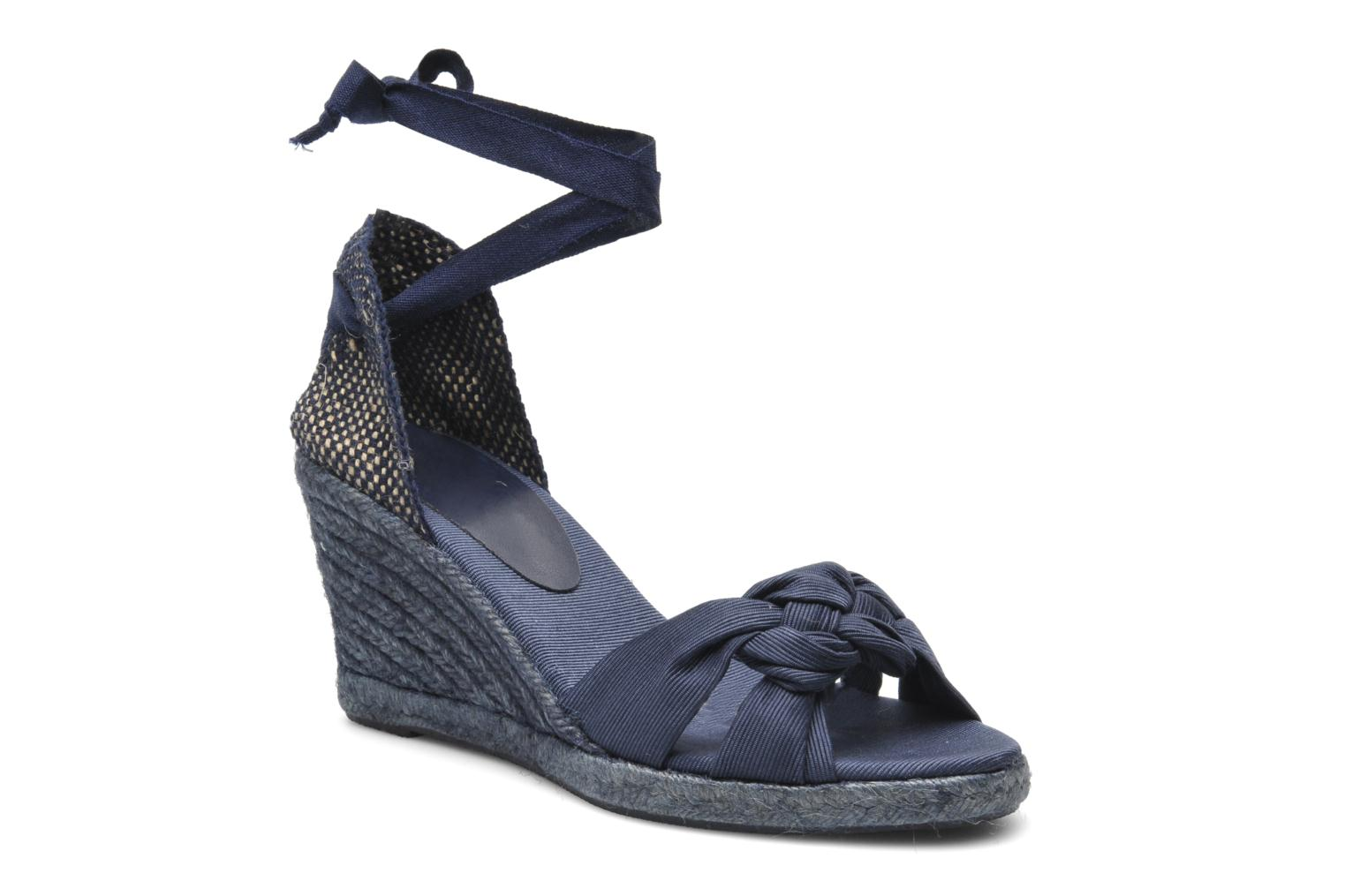 Sandals Elizabeth Stuart Riam 605 Blue detailed view/ Pair view