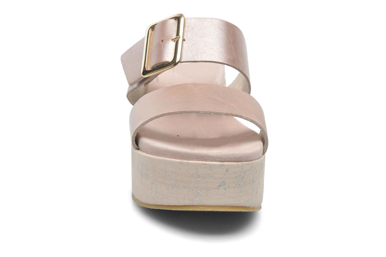 Mules et sabots Elizabeth Stuart Tam 374 Rose vue portées chaussures