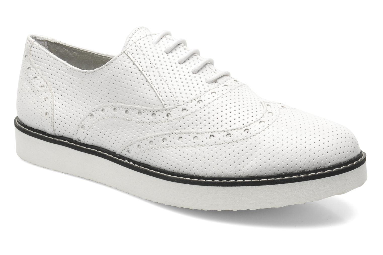 Zapatos promocionales Ippon Vintage Andy perfo (Blanco) - Zapatos con cordones   Zapatos casuales salvajes