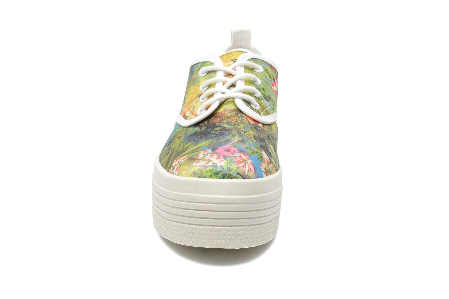 Trainers Ippon Vintage Yuka Flowers Multicolor model view