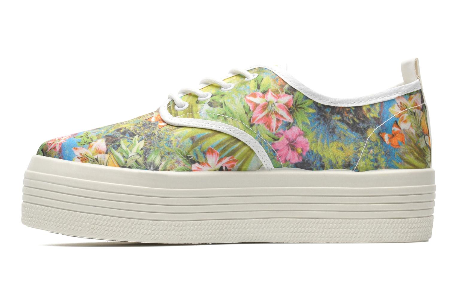 Trainers Ippon Vintage Yuka Flowers Multicolor front view