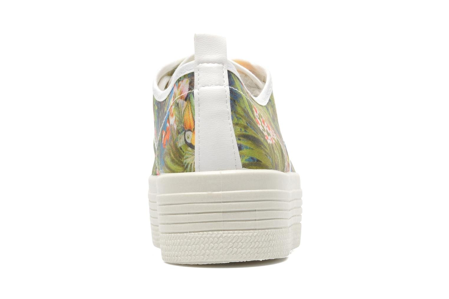 Trainers Ippon Vintage Yuka Flowers Multicolor view from the right