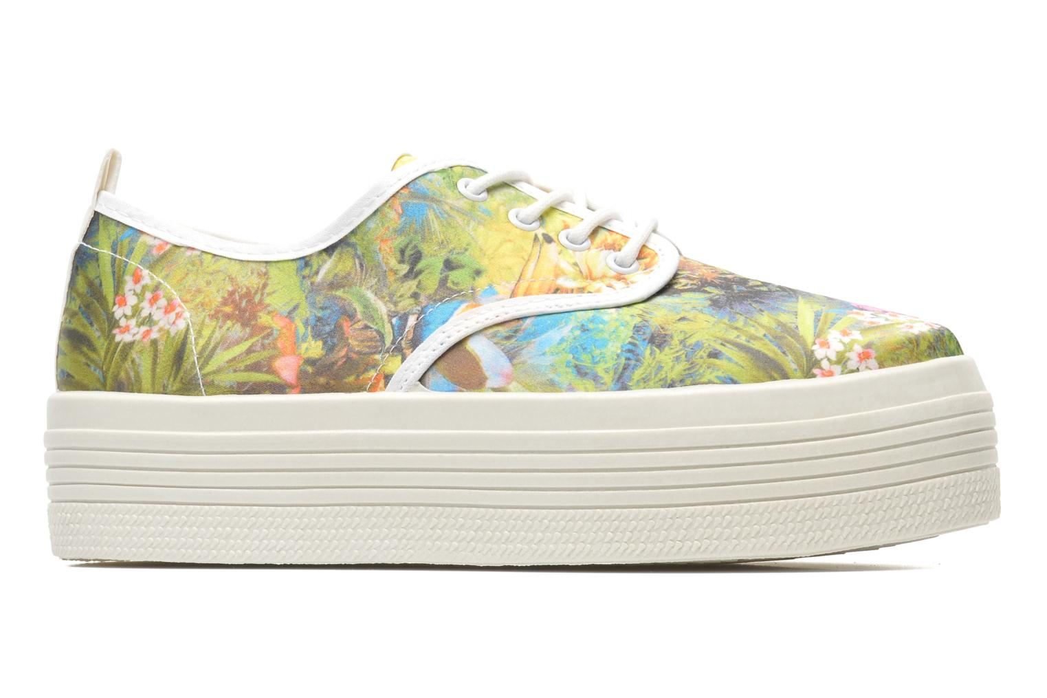 Trainers Ippon Vintage Yuka Flowers Multicolor back view