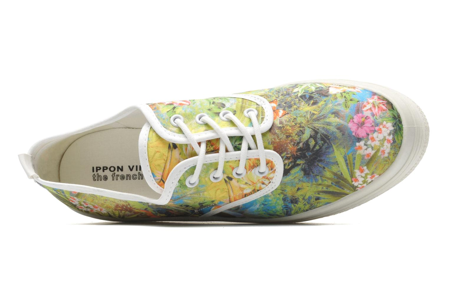 Trainers Ippon Vintage Yuka Flowers Multicolor view from the left