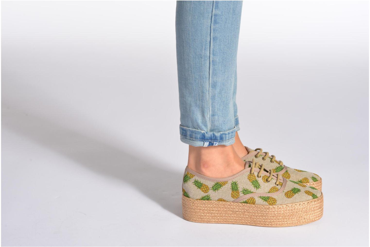Espadrilles Ippon Vintage Nami Sun Blue view from underneath / model view