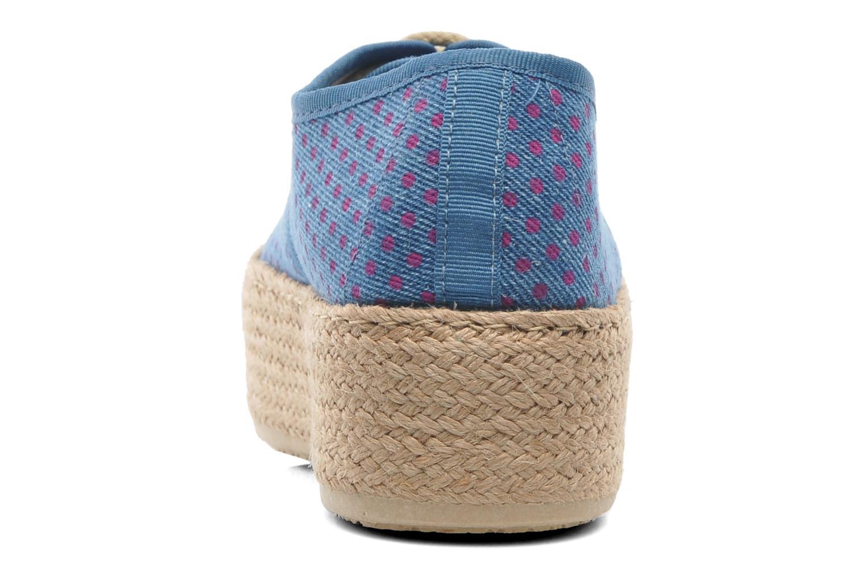 Espadrilles Ippon Vintage Nami Sun Bleu vue droite