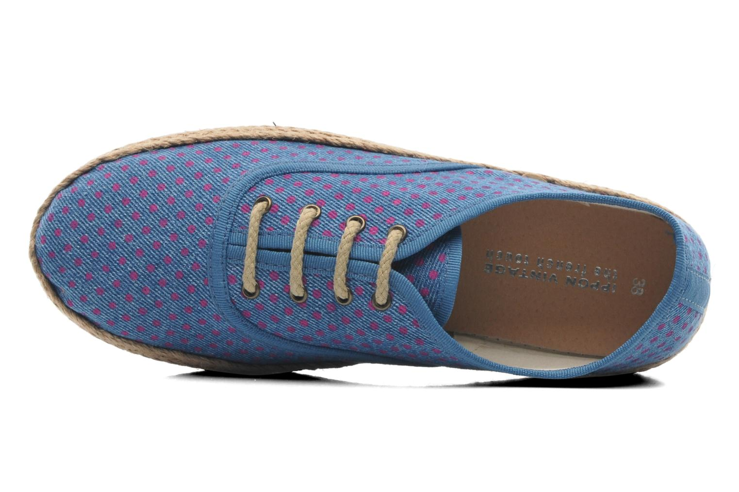 Espadrilles Ippon Vintage Nami Sun Blue view from the left