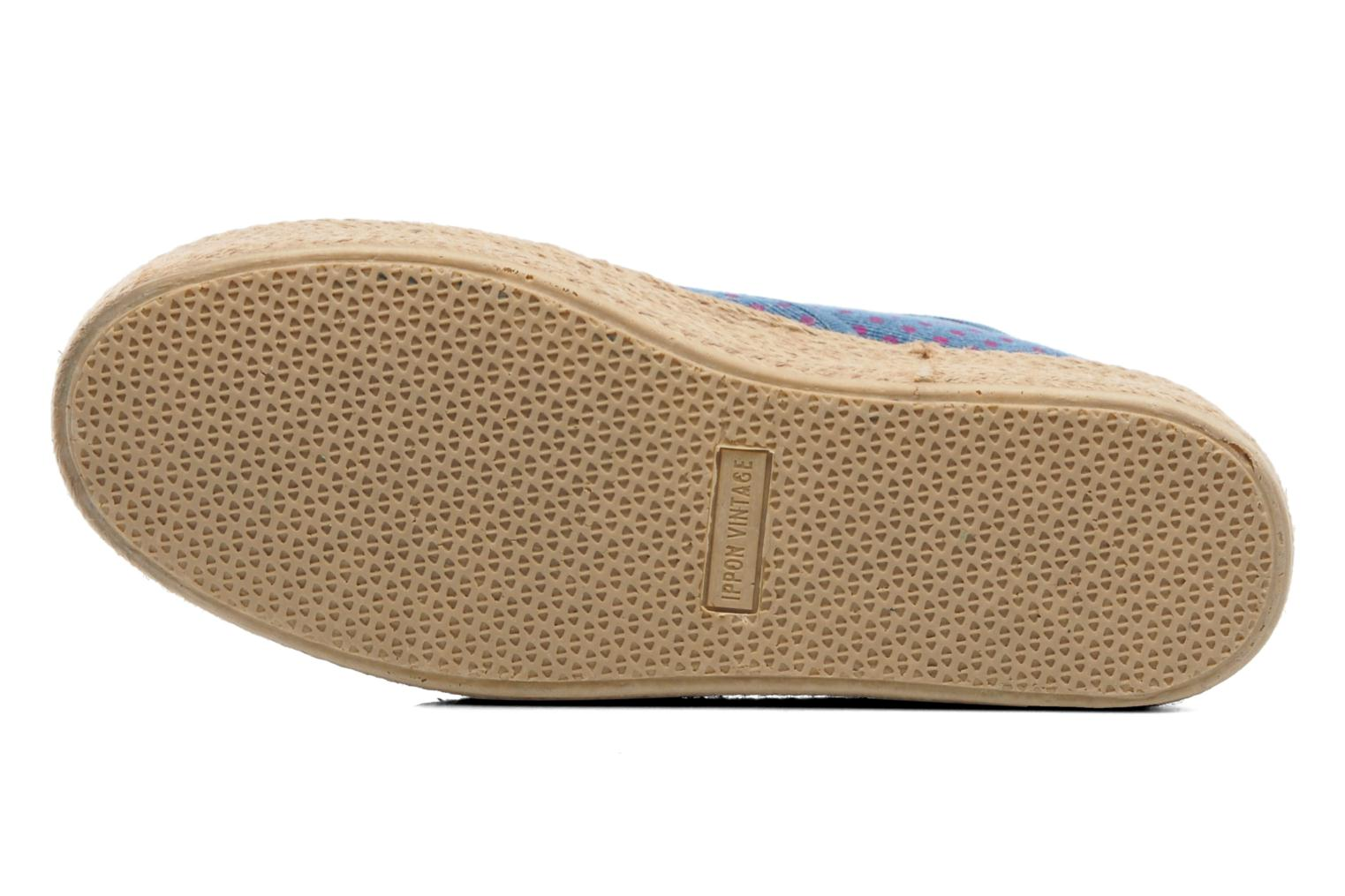 Espadrilles Ippon Vintage Nami Sun Blue view from above
