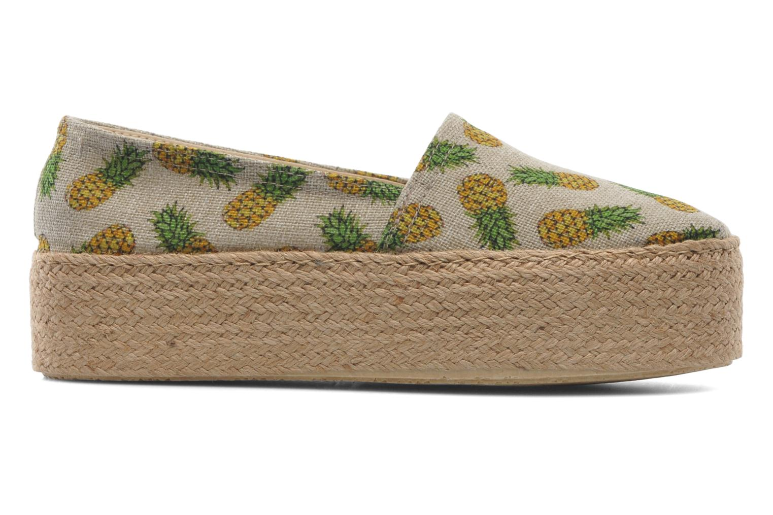 Espadrilles Ippon Vintage Nami beach Multicolor back view