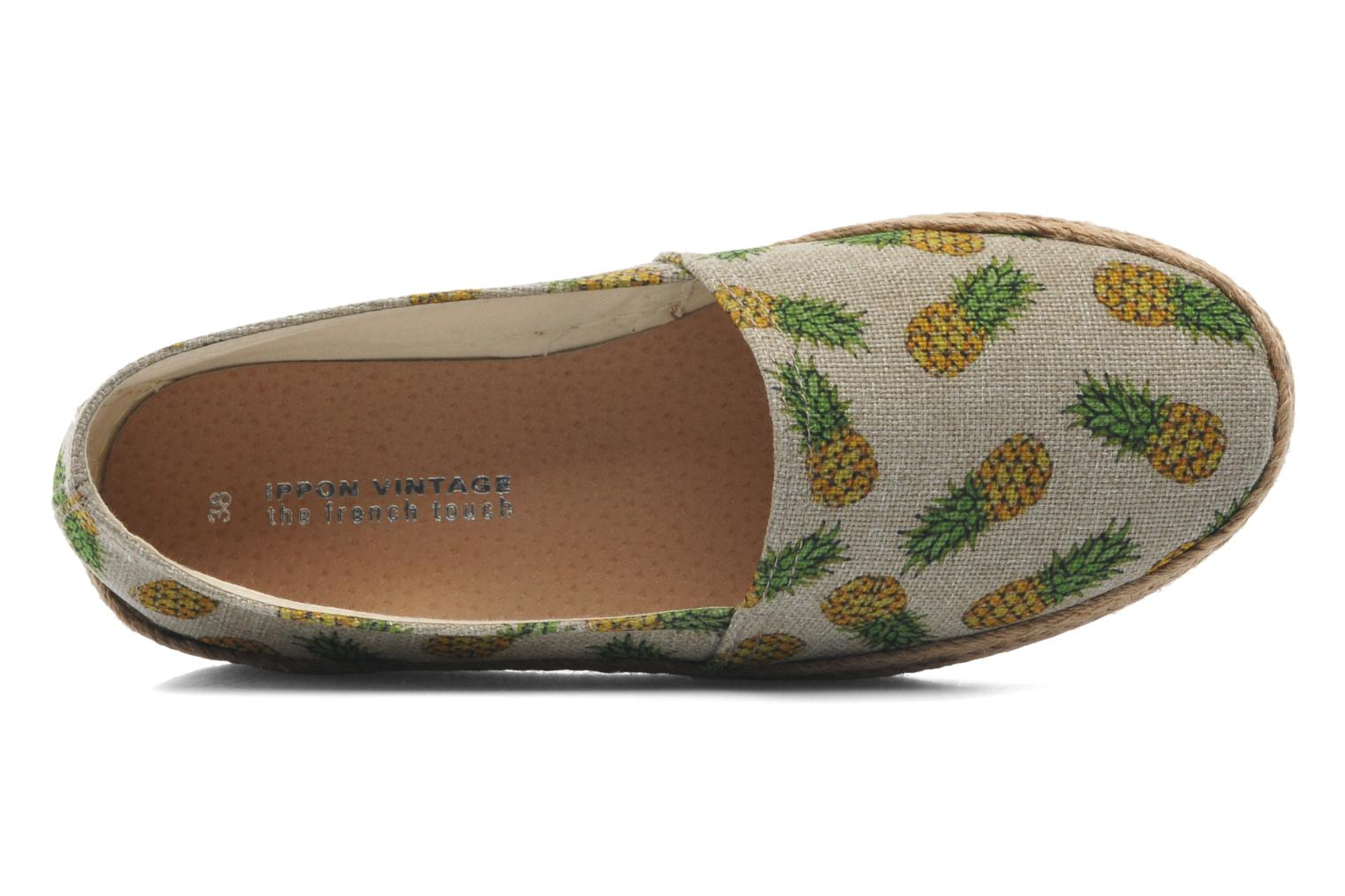 Espadrilles Ippon Vintage Nami beach Multicolor view from the left