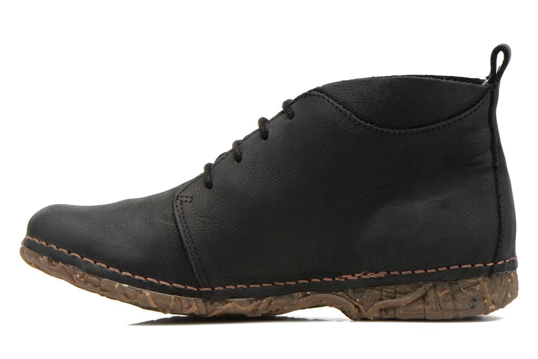 Lace-up shoes El Naturalista Ankor N974 Black front view