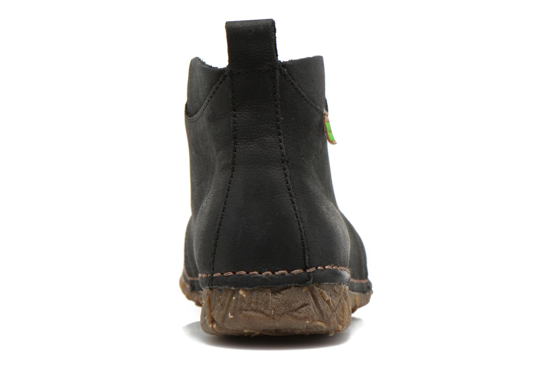 Zapatos con cordones El Naturalista Ankor N974 Negro vista lateral derecha