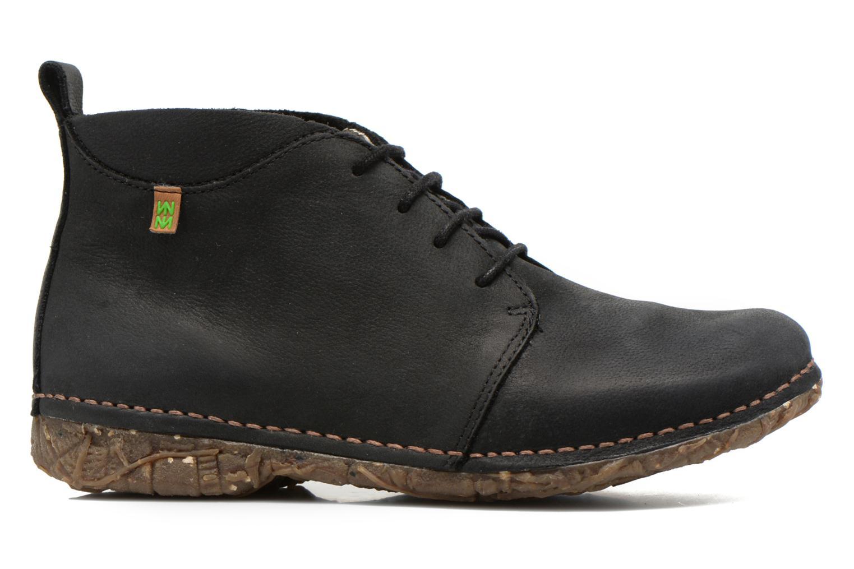 Zapatos con cordones El Naturalista Ankor N974 Negro vistra trasera