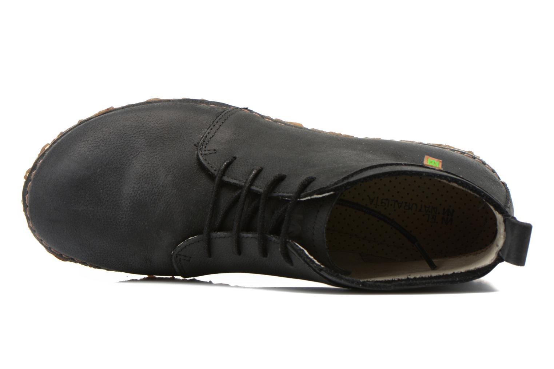 Zapatos con cordones El Naturalista Ankor N974 Negro vista lateral izquierda